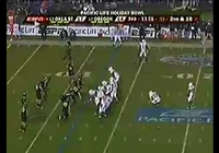 Holiday Bowl Interception